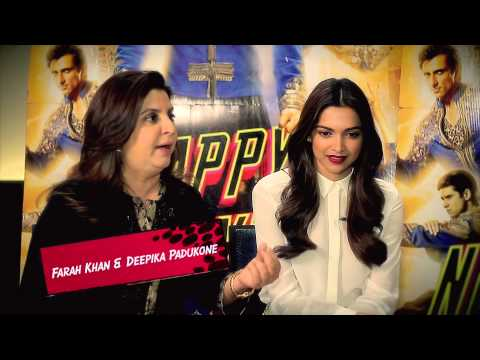 Interview - Farah Khan and Deepika Padukone - HNY