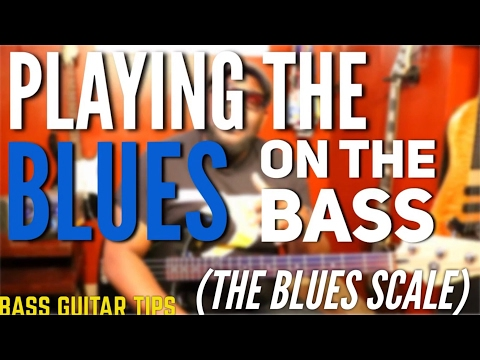 LEARN THE BLUES SCALE ON THE BASS GUITAR | BASS TIPS ~ Daric Bennett's Bass Lessons