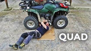 Le quad a besoin d'une vidange de l'huile moteur - 2019