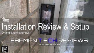 NEW 2016 Ring Video Doorbell Pro Review & Installation