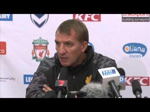 Brendan Rodgers on the Luis Suarez transfer rumours