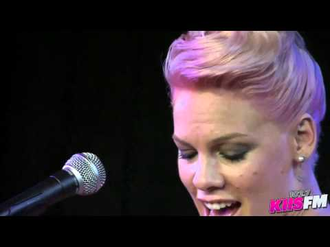 102.7 Kiis-fm: Pink who Knew Live Acoustic video
