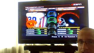 ESPN NFL 2K5 Broncos Custom Season Game 7: Chicago Bears v. Denver Broncos (50s edition)