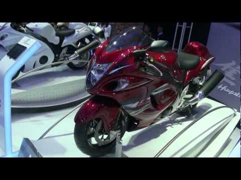 Suzuki Hayabusa Red - Auto Expo 2012