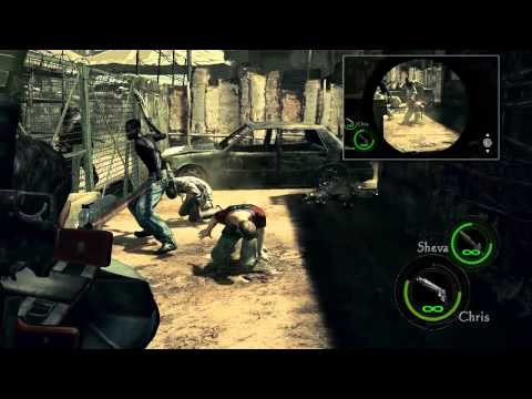 Resident Evil 5 - Captulo 1-1 Civilian Checkpoint - Rank S