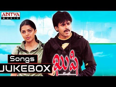 Kushi Telugu Movie Full Songs    Jukebox    Pawan Kalyan,Bhoomika