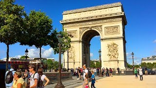PARIS WALK | Arc de Triomphe | France