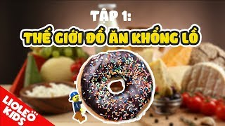 Tiếng Anh cho bé qua phim hoạt hình tiếng Anh Lego #1: bé học tiếng Anh về thức ăn |Lioleo Kids