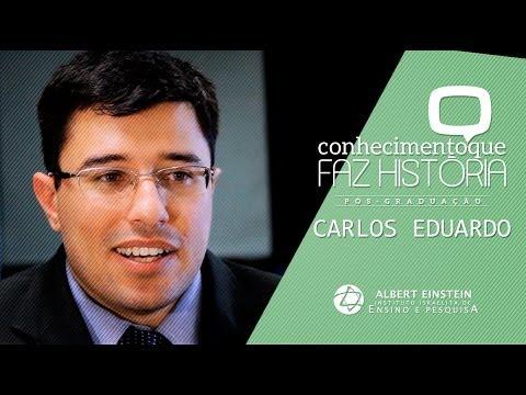 Vídeo - Conhecimento que faz história - Carlos Eduardo