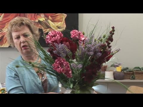 How To Make Silk Flower Arrangements Youtube
