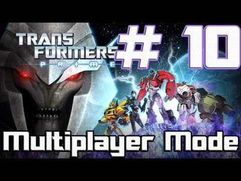 Transformers: Prime -- The Game - Part 10 - Let's talk Botcon (Wii U)