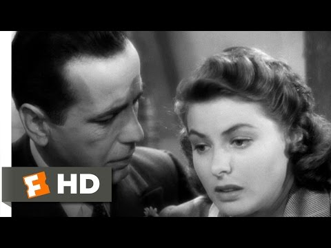Casablanca Movie Clip - watch all clips http://j.mp/yTvqAI Buy Movie: http://j.mp/t3JhbO click to subscribe http://j.mp/sNDUs5 Rick (Humphrey Bogart) makes p...