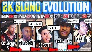 ALL THE 2K SLANG YOU NEED TO KNOW! NBA 2K14 - 2K19 ( 2K SLANG EVOLUTION )