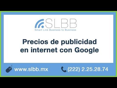 PRECIOS DE PUBLICIDAD EN INTERNET GOOGLE MEXICO  - MARKETING DIGITAL PUEBLA