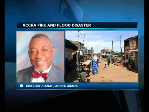Africa Today on Ghana fire and flood with Victor Okhai and Charles Juanah