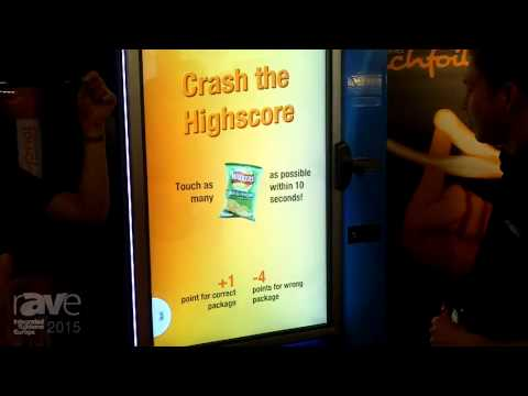 ISE 2015: Visualplanet Uses Vending Machine to Highlight Touchfoil