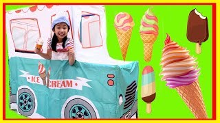 Pretend Play with Ice Cream Truck Food Toys! - Fun TV