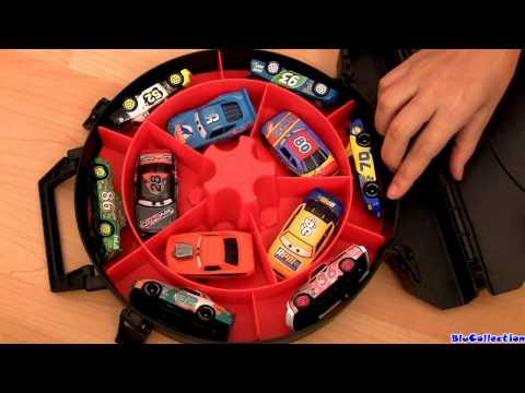 Cars2 Race Case Launcher Storage Lightyear Tire Snot Rod Diecast Store 10 cars Disney Pixar