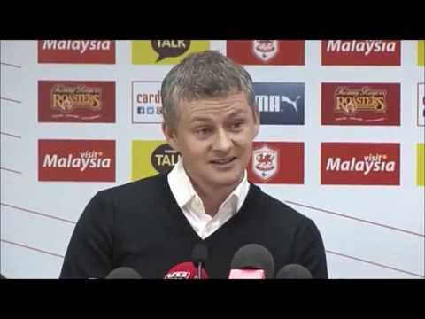'Let's finish above Swansea' Ole Gunnar Solskjaer