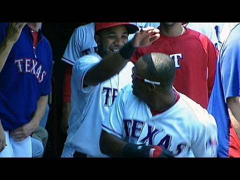 Never a dull dugout with Beltre and Andrus around