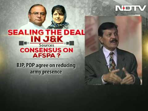 BJP-PDP to seal the deal in J&K: Stable alliance for governance?