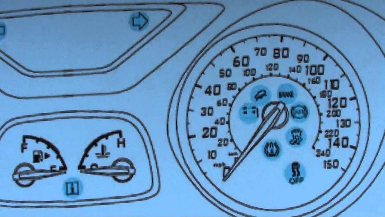 Ford Dashboard Symbols Best Car Release And Reviews 2019 2020 Diagram Focus Mk3 Warning Lights Youtube