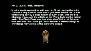 Diablo II - Alkor - All Speech Files