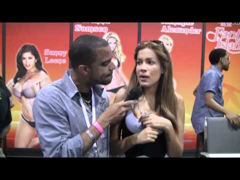 Isis Taylor New Adult Porn Star Short Interview Miami Exxxotica Expo 2010 video