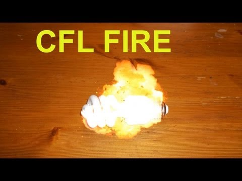 CFL Light Burned My Home Plus Fire Destruction Photos