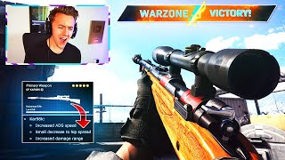 The KAR98K got BUFFED.. now it's TOO OVERPOWERED!! (Modern Warfare Warzone)