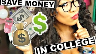 How To Save Money In College  | Back To School 2016 Budget Tips!