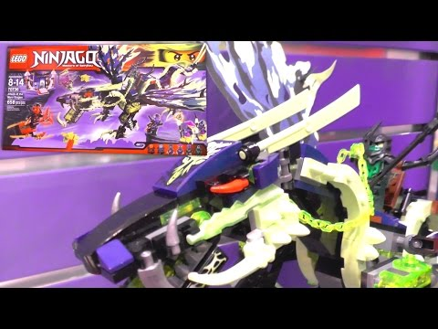 LEGO Ninjago 2015 Sets - Final Flight of Destiny's Bounty. Ghost Dragon