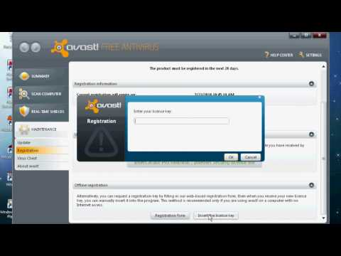 Avast! 9.0.2011 Free Antivirus Hack {2013 - 2038} - No Download