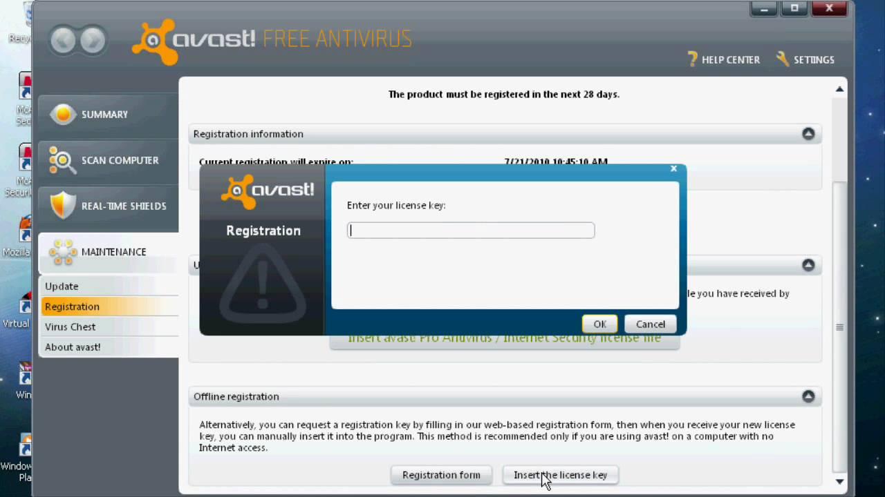 Avast! 10.2.2218 Free Antivirus Hack {2015 - 2038} - No Download - YouTube