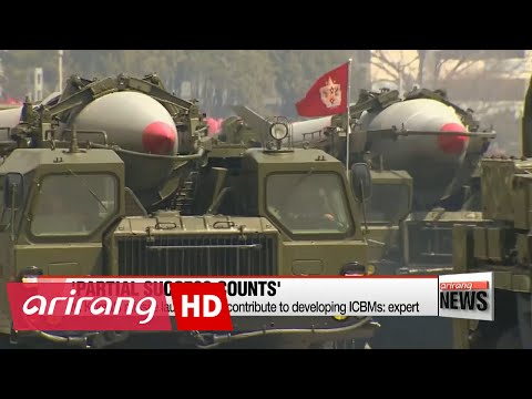 N. Korea's missile launches will contribute to developing ICBMs: expert