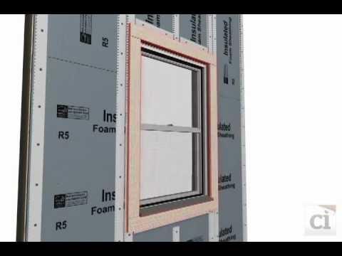 Install Drainwrap Under Rigid Foam Board Dupont Tyvek