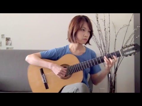 The Water is Wide - Classical Guitar - Yenne Lee - 이예은