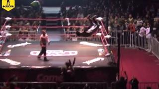 Black Danger vs Arkangel Divino, Campeonato Jr. The Crash