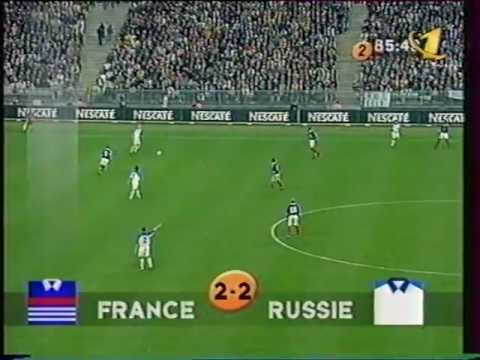 Победный гол В.Карпина (Франция, 1999 г.)
