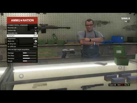 Guns Gta Gta 5 Gun Store / Ammunation