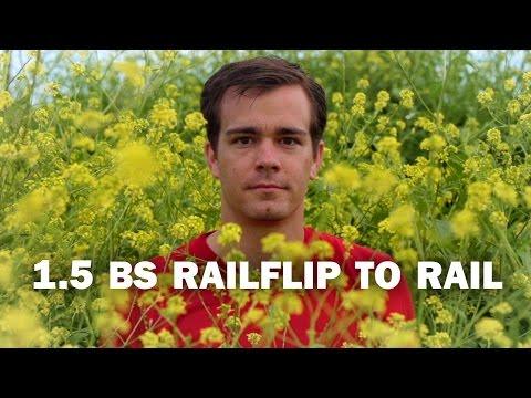 1.5 BS Railflip to Rail: Daniel Trujillo || ShortSided