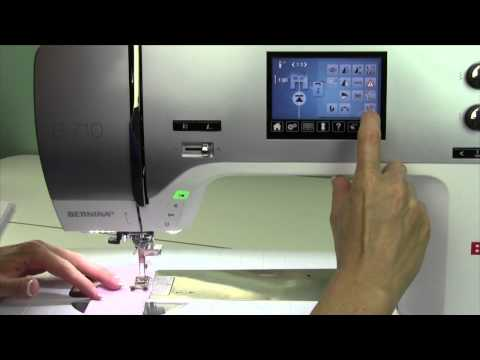 Bernina 710 36 Super Stretch Stitch
