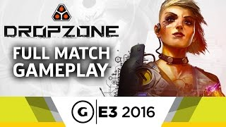A Full Match of Dropzone Gameplay - E3 2016