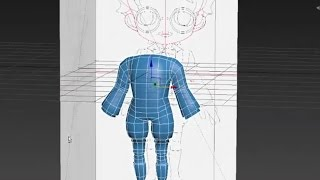Autodesk 3ds Max chibi / anime character body modeling