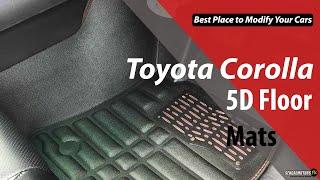 Toyota Corolla Modification 2020 | 5D Floor Mats | Trunk Mats | Car Accessories