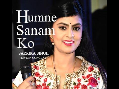 Humne Sanam Ko Khat Likha | By Sarrika Singh Live | Shakti 1982 | Lata Mangeshkar |