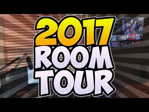 MUAAZ'S 2017 ROOM TOUR / GAMING SETUP VIDEO!