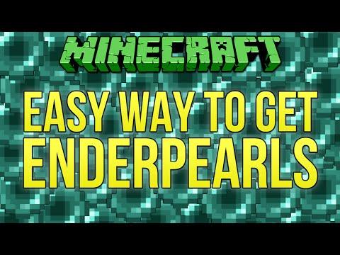 Minecraft Tutorial: Easy Way To Get Ender Pearls (Minecraft 1.9)
