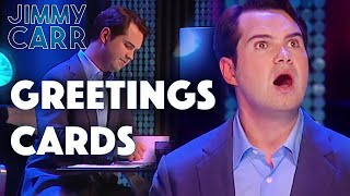 Jimmy Writes Greetings Cards | Jimmy Carr: Comedian