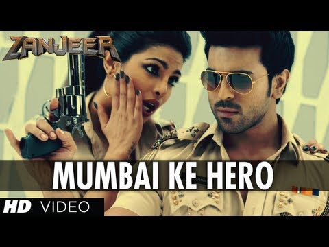mumbai Ke Hero Song Zanjeer Movie (hindi) | Ram Charan, Priyanka Chopra video